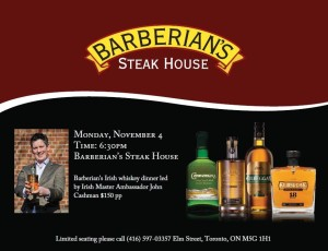 Barberians Irish Whiskey